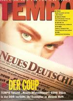 Tempo 04/88: 'Neues Deutschland'-Heft