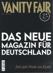 Vanity Fair - die Startausgabe